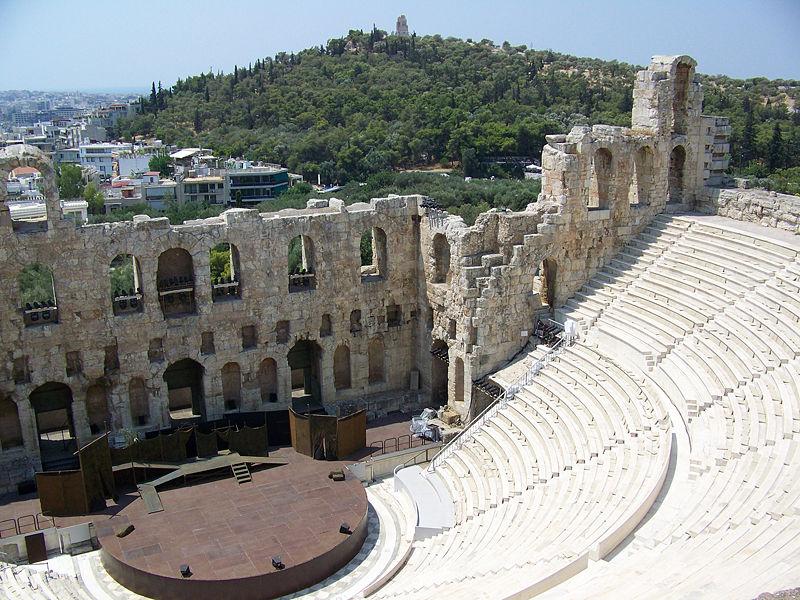 Acropolis_-_Herodes_Atticus_theatre odeon Heroda Atticusa