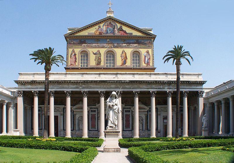 800px-Roma_San_Paolo_fuori_le_mura_BW_1