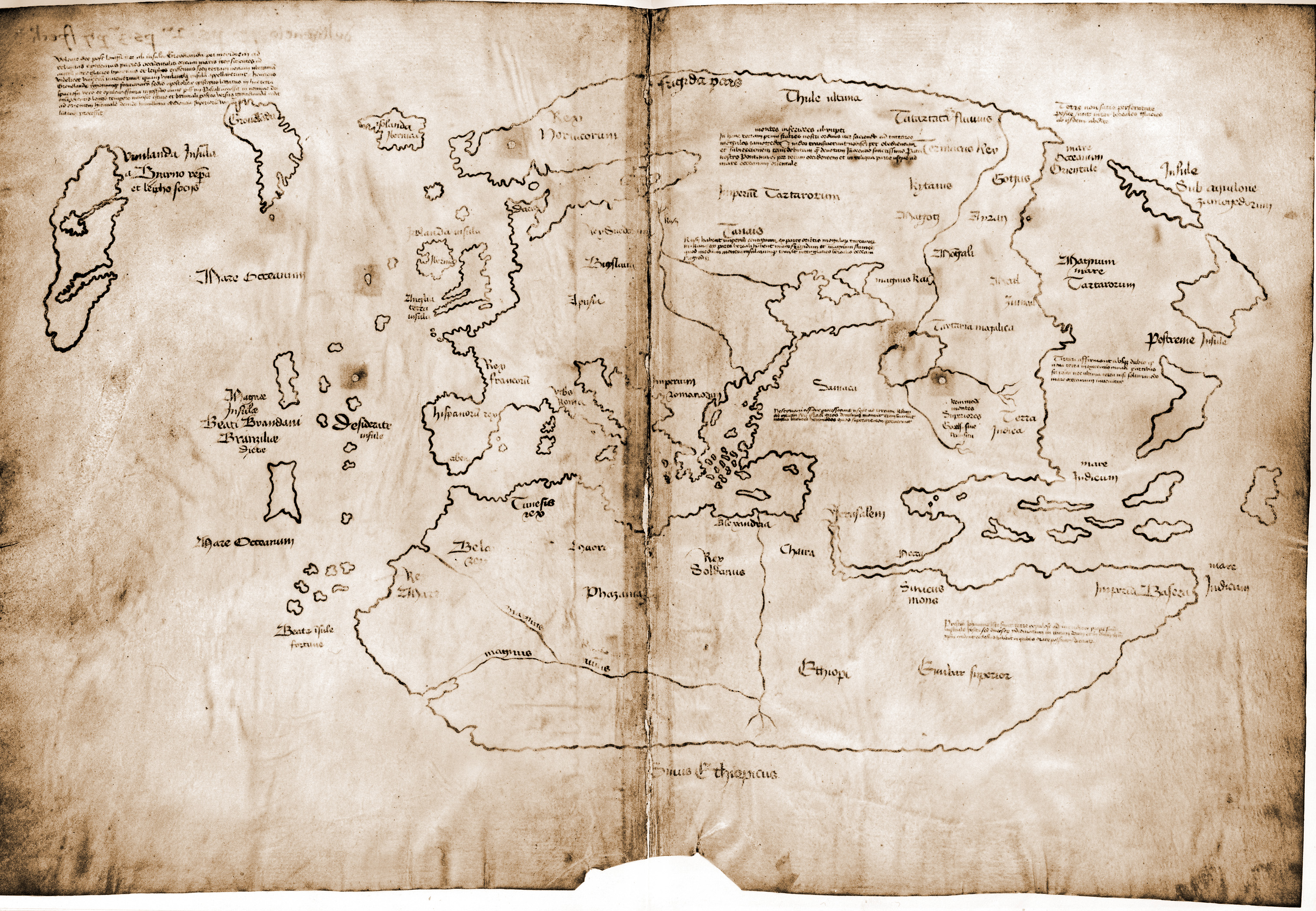 Vinland_Map Mapa Winlandii
