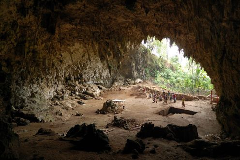 Liang Bua Homo_floresiensis_cave